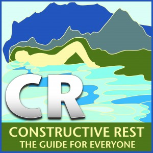 CR Constructive Rest: The Guide for Everyone CD cover art