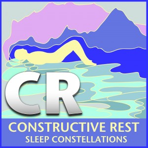 CR Constructive Rest: Sleep Constellations CD cover art